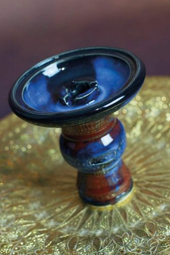 aljamal Al'Ardia Bowl Blue Red